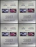 2007 Dodge Durango Chrysler Aspen Repair Shop Manual Original 4 Volume Set