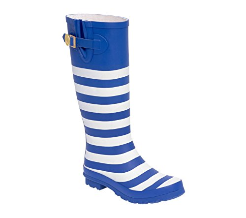 Lh Blue White Rainboots U and Royal Lillybee 1wzCPq4W