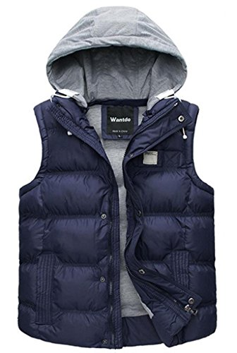 Quilted Detachable Hood Jacket - 5
