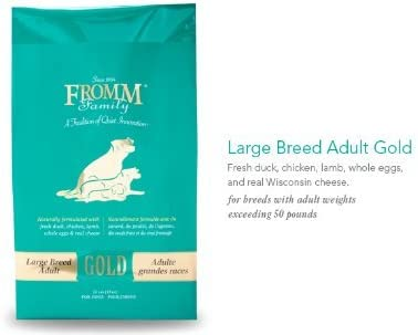 Fromm Family Foods 33 Lb Adult Gold Large Breed Formula Dry Dog Foods 1 Pack