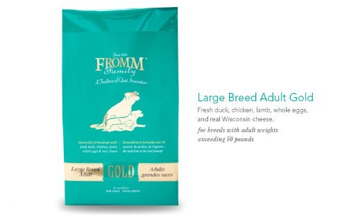 Fromm Family Foods 33 Lb Adult Gold Large Breed Formula Dry Dog Foods 1 Pack , One Size
