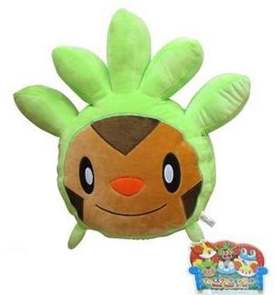 Amazon.com: Pokemon Chespin Face Plush Pillow 13