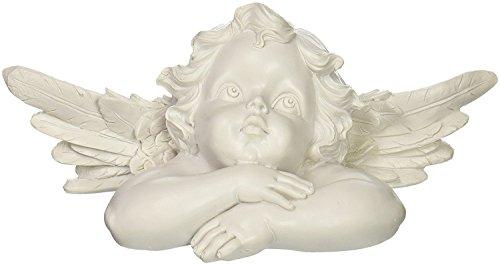 Baby Cherub (Loves Child Angel Cupid Home Decor Cherub Statue Baby Sculpture Figurine 728-8-2)