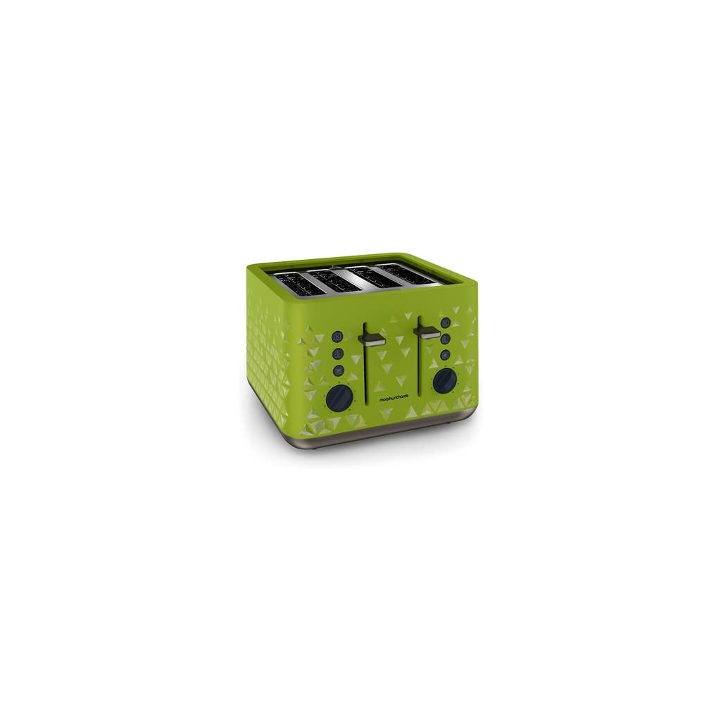 Morphy Richards 248105 Prism Toaster - Green