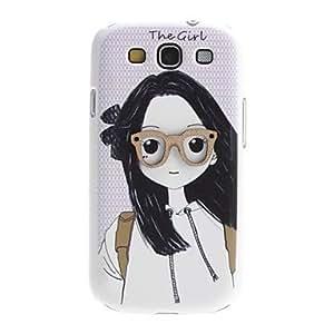 hello Girl Design Hard Case for Samsung Galaxy S3 I9300