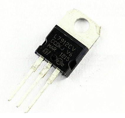 10PCS NEW  IC L7912CV L7912 7912 TO-220 ST Voltage Regulator 12V ST NEW