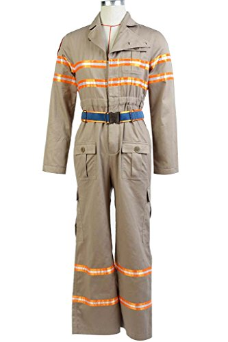 [mingL Men's Ghostbusters 3 Costume Ghost Busters Jumpsuit Flight Suit Cosplay Costume] (Custom Inflatable Costumes)