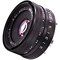 MagiDeal 32MM F1.6Prime Fixed Manual Focus Lens For Sony E Mount Mirrorless APS-C