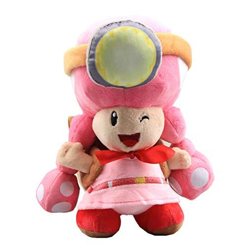 uiuoutoy Super Mario Bros. Toad Brigade Toadette Plush 8''