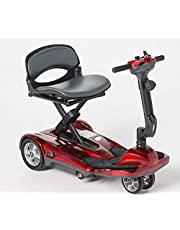 EV Rider Transport AF Plus - Automatic Folding Lithium Battery Power Scooter with Remote