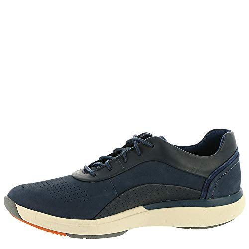 Combi Leather B 5 Women's 9 Nuback Cruise Un Navy US Lace CLARKS 0qvYww