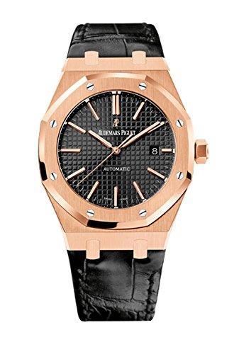 AP Audemars Piguet Royal Roble 41 de oro rosa correa de cuero 15400or. OO. D002CR. 01: Audemars Piguet: Amazon.es: Relojes