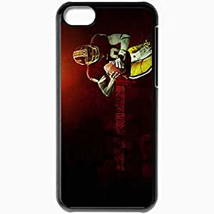 Personalized iPhone 5C Cell phone Case/Cover Skin 14399 robert griffin lll copy Black