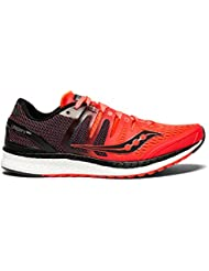 Saucony Liberty ISO Womens Shoes Vizi Red/Black