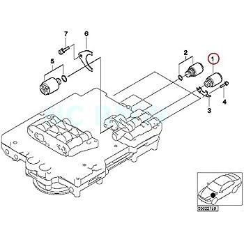 Amazon Com Genuine Bmw E38 E39 E46 E85 Cabrio At Solenoid Valve