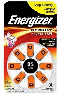 - 24 x Energizer AZ13 Zinc Air Hearing Aid Batteries