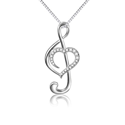 Musical Necklace Pendant Sterling Jewelry product image