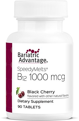 Bariatric Advantage B-12 Speedy Melts (Black Cherry, 90 Count) ()