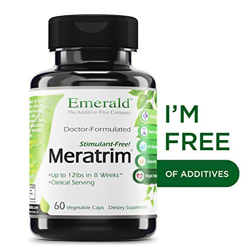 Meratrim 800 mg - Supports Healthy Weight Loss, Metabolism, Suppresses Appetite, Anti-Inflammatory, Nitric Oxide Boost - Emerald Laboratories (Ultra Botanicals) - 60 Capsules