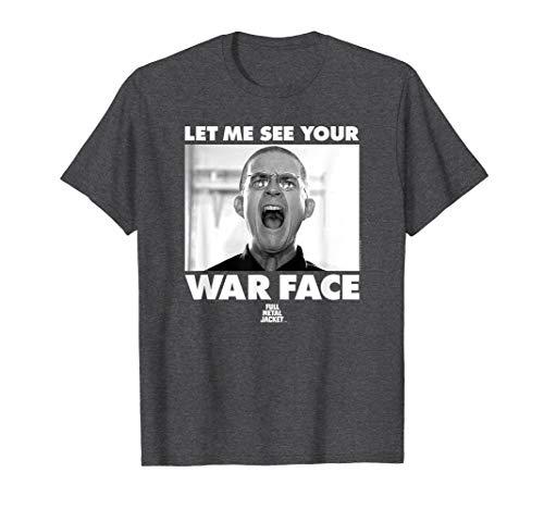 Full Metal Jacket War Face T Shirt