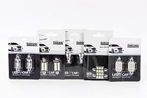 Kit Seitronic ® SMD LED luz interior para Renault Megane 2 - Xenon Blanco