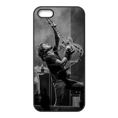F F 004 coque iPhone 5 5S Housse téléphone Noir de couverture de cas coque EOKXLLNCD15303