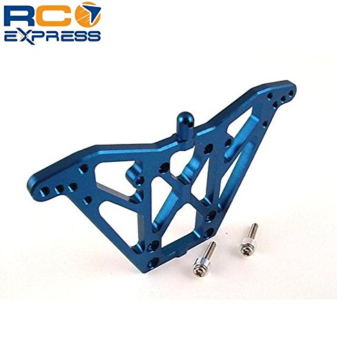 Hot Racing TN030 Blue Aluminum Rear Shock (Chassis Rear Shock Tower)