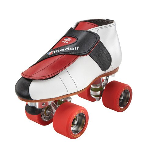 Riedell 911 Jammer Boys Jam Roller Skates - 4.0/Red by Riedell
