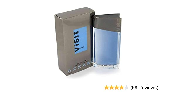 Amazon.com : Azzaro Visit By Azzaro For Men. Eau De Toilette Spray 3.4 Ounces : Beauty