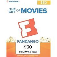 $50 Fandango Gift Card