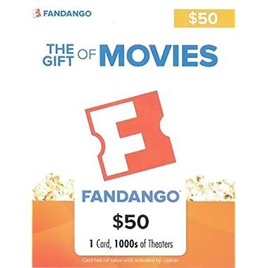 Fandango $50 Gift Card