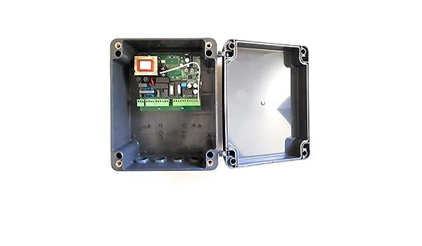 Central maniobras universal para motores de puertas batientes de 1 o 2 hojas CME2: Amazon.es: Bricolaje y herramientas