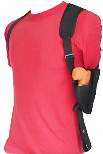 Federal Vertical Shoulder Holster for 2' Revolvers 5 & 6 Shot - LCRX, S&W, Rossi, Taurus 85, Most Others