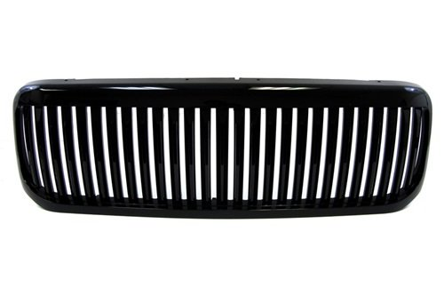 Superduty Excursion Black Vertical Front Grille Replacement Grill 00 01 02 03 (03 04 Ford F250 Grille)