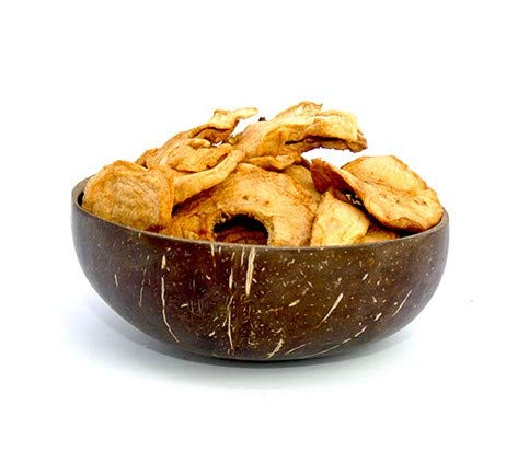 Amrita Foods - Dried Apple Rings, 8 Oz - Top 9 Allergy Free - Gluten-Free, Dairy-Free, Soy-Free. Tasty Snack for Every Day.