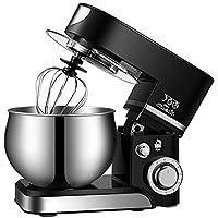 Batidora Amasadora, Amasadora de Bajo Ruido para Repostería, Amasadora de Pan, Robot de Cocina Automática con Tres…
