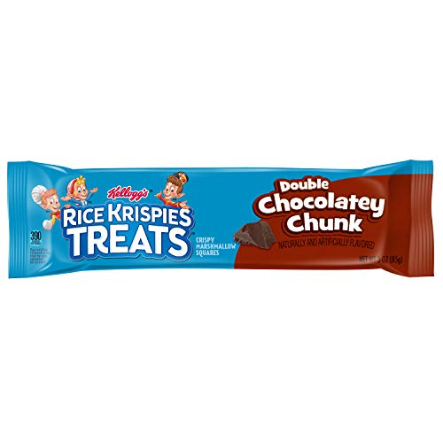 Kellogg's Double Chocolatey Chunk Rice Krispies Treats Squares (Pack of 72) (Best Ever Rice Krispie Treats)