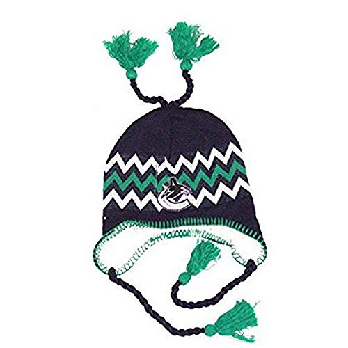 bde16539bde Vancouver Canucks Abomination Knit Hats. NHL Officially Licensed Vancouver  Canucks Sherpa Lined Tassel Beanie Hat Cap Lid Skull
