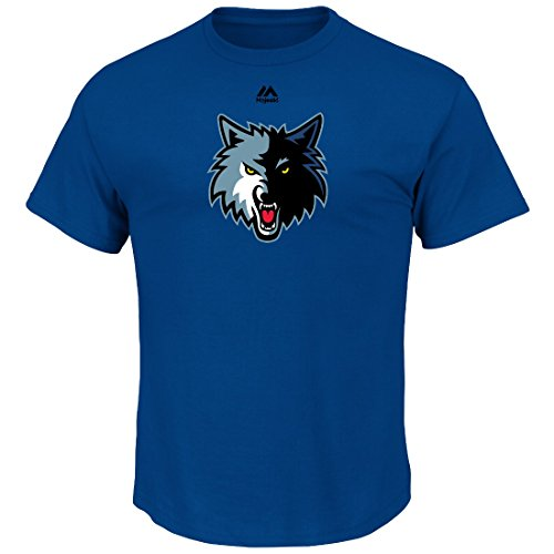 "Minnesota Timberwolves Majestic NBA ""Supreme Logo"" Men's Short Sleeve T-Shirt – DiZiSports Store"