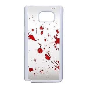 Samsung Galaxy Note 5 Phone Case White Dexter-Blood WQ5RT7553175
