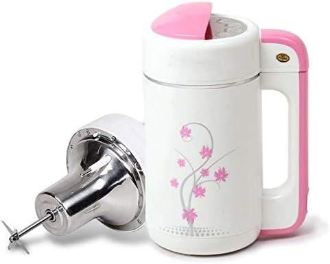 MBBJJ Hogar Mini Leche de Soja automatización de máquinas de Leche de Soja Fabricante de Dulce de Leche Shake Gachas máquina de moler Grano en Exprimidor (Color : C): Amazon.es