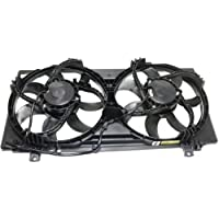 MAPM Premium CAMARO 10-11 RADIATOR FAN ASSEMBLY, Dual Fan, (2nd Design, w/Square Female Connector)