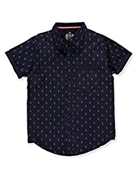 SilverStone Boys' S/S Button-Down Shirt