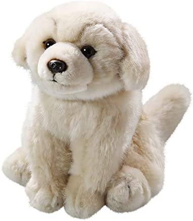 8 inches Stuffed Animal 2015002 Imberi . Carl Dick Golden Retriever Sitting 21cm Soft Toy Plush Toy