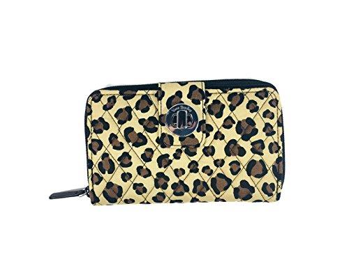 Vera Bradley Turnlock Wallet (Leopard)
