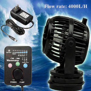 Brand New Jebao RW4 100-200V 4000L H Wavemaker Aquarium Tank Water Pump with Controller