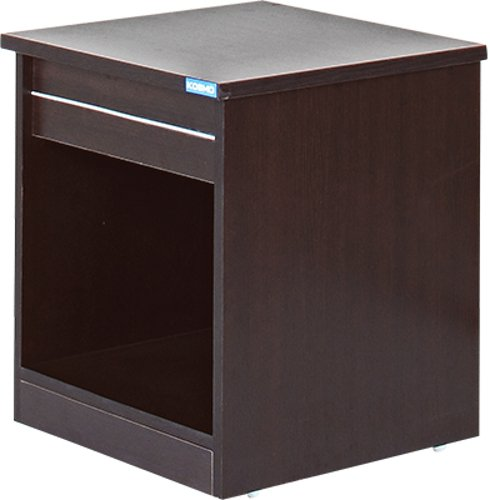 1337a95c4 Spacewood Basic Bedside Table (Natural Wenge)  Amazon.in  Home   Kitchen