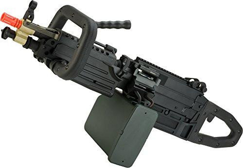 Evike Mugen Fire Class I Custom ChainSAW Zombie Killer A&K M249 Airsoft Machine Gun