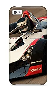 Ultra Slim Fit Hard ZippyDoritEduard Case Cover Specially Made For Iphone 5c- Bac Mono