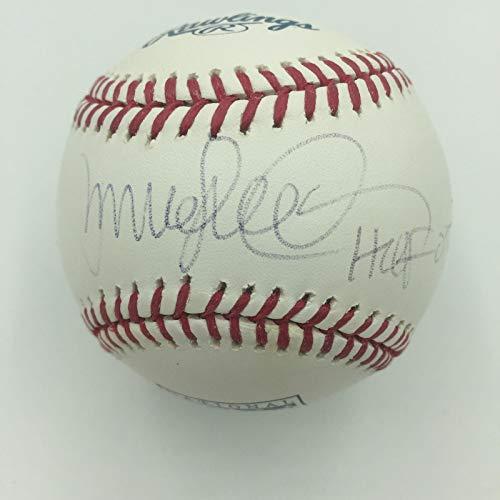 (Ryne Sandberg HOF 2005 Signed Official Hall Of Fame MLB Baseball JSA COA)